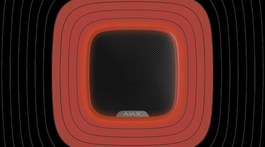 Сирени обладнанням Ajax